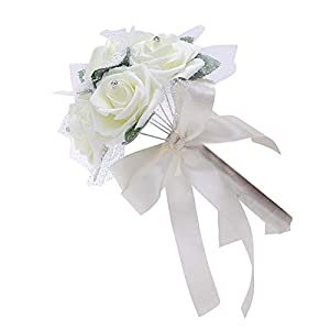 SoundsBeauty Fashion Foam Artificial Rose Flower DIY Wedding Bridal Bouquet Party Home Decor 119