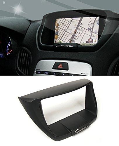 Jycshop 7 ~ 8inch 7'' 8'' GPS Dash Fascia About Trip integrated 4-pc Set For 08 09 10 11 Hyundai Genesis Coupe