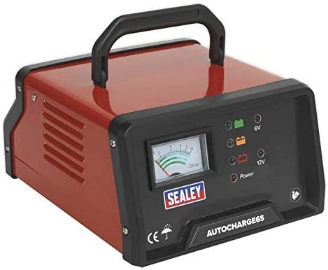 Sealey AUTOCHARGE6S 6Amp 6//12V Electronic Battery Charger