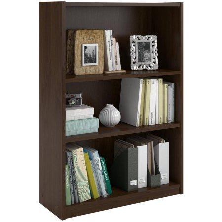 2 Adjustable Shelves | Ameriwood 3-Shelf Bookcase | 9.31