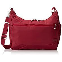 PacSafe Citysafe CS200 Anti-Theft Handbag, Cranberry