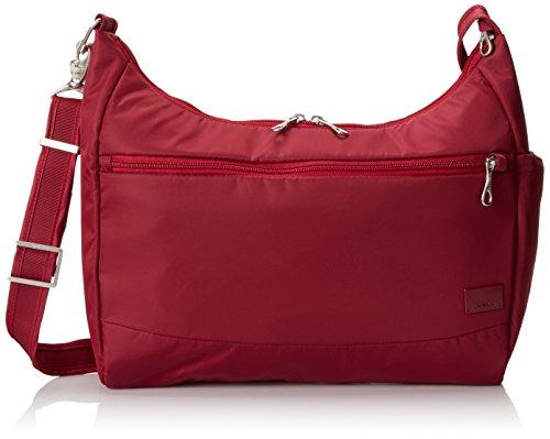 Cranberry Fabric Handbags - 4