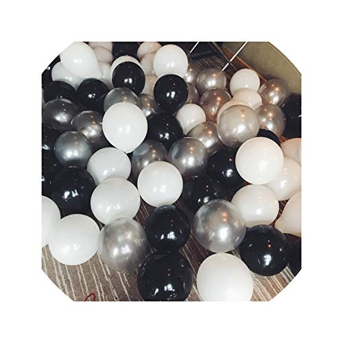 30Pcs/Lot 2.2G Latex Balloons Birthday Wedding Party Decorations Air Helium Balloons Kids Gifts Baloons,3 Kinds Color]()