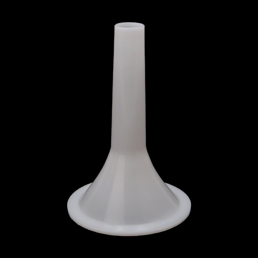 Milue Plastic #32 Size Meat Grinder Sausage Stuffer Tube Horn Funnel For Filling Meat