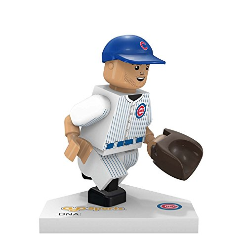MLB Chicago Cubs Kris Bryant Generation 5 Minifigure, Small, Black