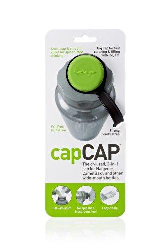(Humangear capCap - Green/Gray)
