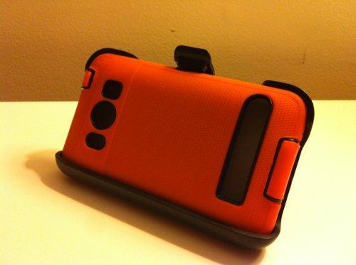 032884172047 - New Defender Case for Htc Evo 4g with Hip Holster That Doubles As a Media Stand Generic Otterbox Defender Series carousel main 6
