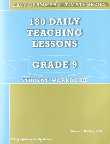 180 Daily Teaching Lessons (Easy Grammar Ultimate