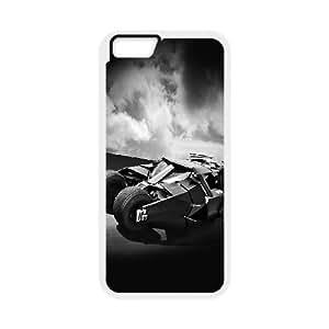 iPhone 6 Plus 5.5 Inch Cell Phone Case White ae00 batcar batman returns highway art hero Zdhrj