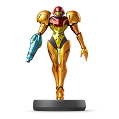 1 x Nintendo Samus Amiibo (Super Smash Bros. Series) For Wii U. Japan import and Japanese text.