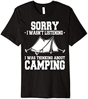Funny Camping  Gift for Camper And Camping Lover Gifts Premium T-shirt   Size S - 5XL