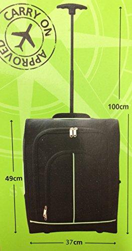 Trek Buddy Carry On zugelassen Handgepäck Tasche mit Rollen