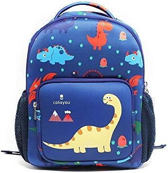 GLBS Kreative Karikatur Bilder Blau Kinder Schoolbag Super Light High Capacity-Kind-Schule-Rucksack Nacht Reflektierende Streifen Entwurf Schultern Bookbags for Jungen, Mädchen