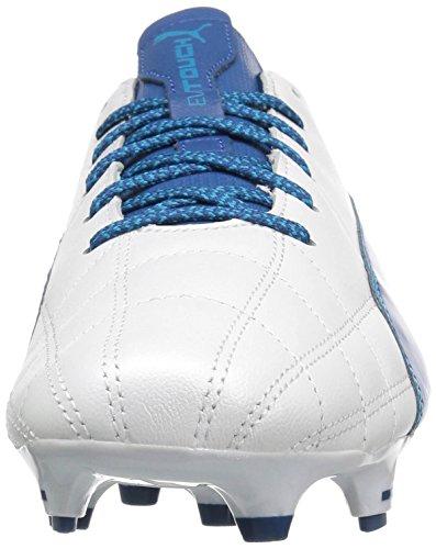 6 Us true M Puma 3 Uomo Fg Evotouch Lth Calcio Danube blue White Da Blue Scarpe qxOZHH