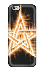 Hard Plastic Iphone 6 Plus Case Back Cover,hot Amazing Blessed Flame Star Fire Case At Perfect Diy