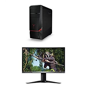 Lenovo Ideacentre Y700 90DG0021US Desktop (Intel Core i5-6600, 8GB GDDR5, 1TB HDD + 128GB SSD, Windows 10)