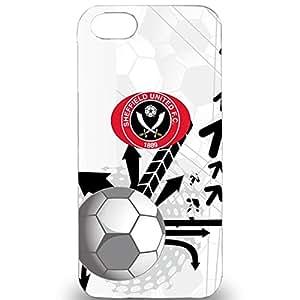 Famous Football Team Sheffield United FC Phone Case Cover For Iphone 5/5S Sheffield United FC Stylish Pattern