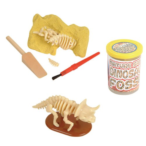 Dinosaur Fossil - Nature Sand Dino Dig Stocking Stuffer - 1pc