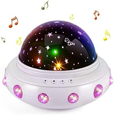 Juguetes para niñas de 1 a 10 años, proyector de estrellas ...