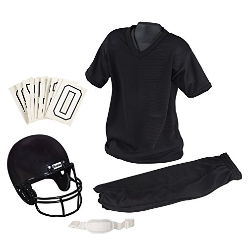 Franklin Sports Youth Football Uniform Set, Medium, Black (Uniform Football Set Youth Franklin)