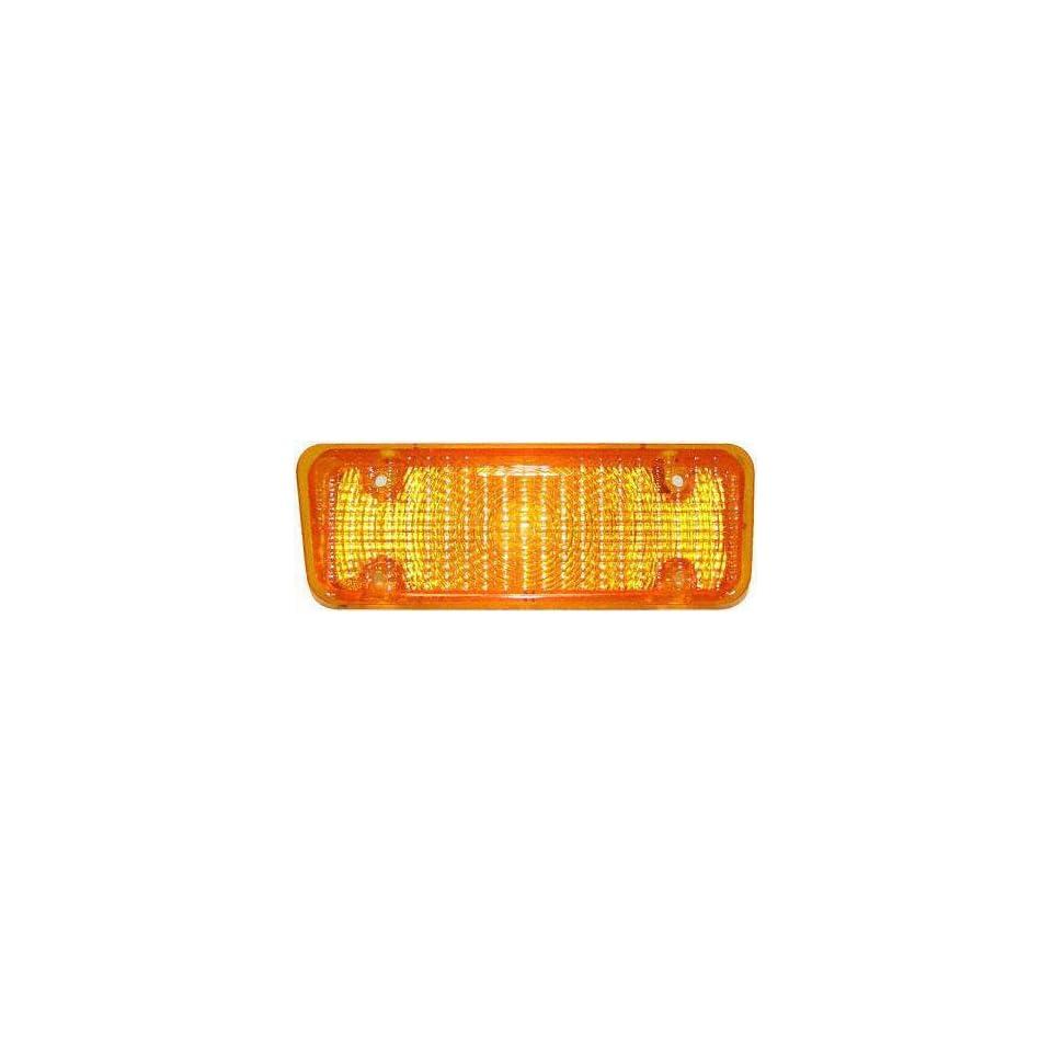 71 72 CHEVY CHEVROLET FULL SIZE PICKUP fullsize PARKING LIGHT LH (DRIVER SIDE) TRUCK, Amber Lens (1971 71 1972 72) C00106306 5964453