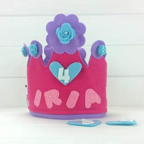 Corona Cumpleaños Hello Kitty: Amazon.es: Handmade