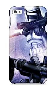 High Impact Dirt/shock Proof Case Cover For Iphone 5c (star Wars Sci Fi People Sci Fi)