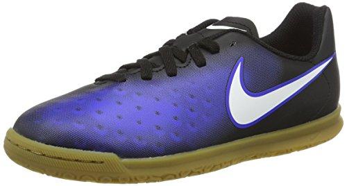 Nike 844423-016, Botas de Fútbol Para Niños Negro (Black / White / Paramount Blue / Hyper Orange)