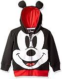 Disney Disfraz de Mickey Mouse con Capucha para niños de, Negro, 2 Años