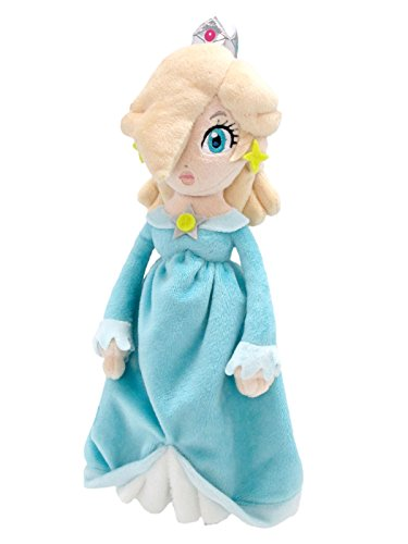 Sanei Super Mario All Star Collection AC36 Rosalina Stuffed Plush, 10.5