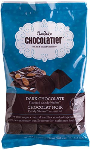 ChocoMaker Chocolate Wafers - Compound - Dark Chocolate - Natural