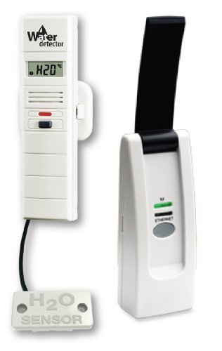 Superior Pump 92130 WiFi Remote Water Detector with Temperature, Humidity and Early Warning Alerts by Superior Pump