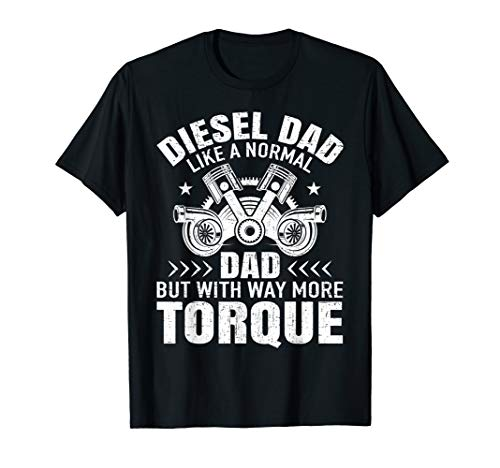 - Fathers Day Funny Gift Shirt Diesel Mechanic Dad Automobile