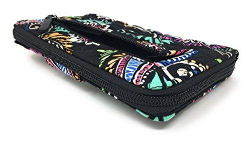 Black With Turnlock Vera Interior Wallet Swirl Bandana Bradley 54PwqwYX