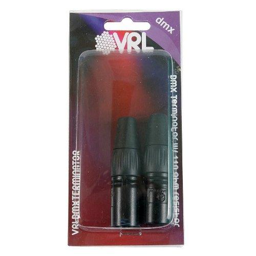 - Elite Core VRL VRLDMXTERMINATOR 3-Pin and 5-Pin DMX Terminator Set