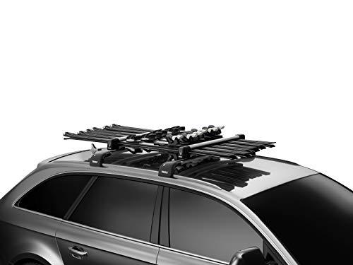 OCPTY Roof Rack Ski Carriers Rack Ski and Snowboard Carrier w//Key