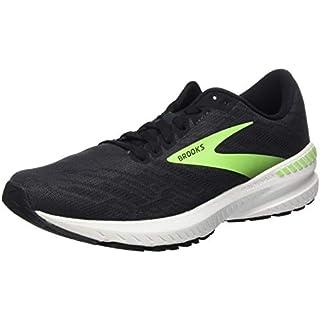 Brooks Mens Ravenna 11 Running Shoe - Ebony/Black/Gecko - D - 9.5