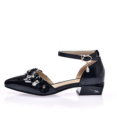 Femme 36 Sandales BalaMasa Compensées 5 Noir EU Noir zAEAZxqpw