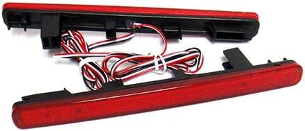2 St/ück LED-Bremslichter f/ür Sto/ßstange hinten bitte l/änderspezifische Rechtsvorschriften beachten rot