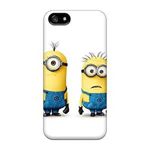 Fashion pc Case For Iphone 5/5s- Minions Defender Case Cover