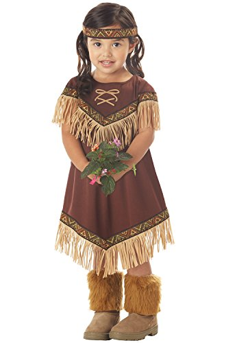 Pocahontas Indian Costumes (Lil' Indian Princess Girl's Costume, Large, One Color)