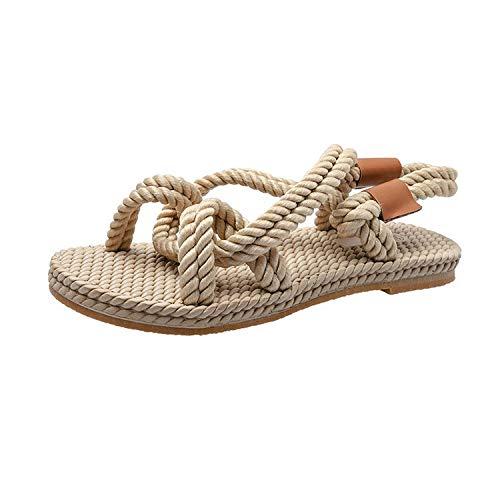 - Women Bohemian Glitter Summer Flat Sandals Thongs Flip Flop shoes