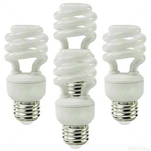Ecosmart 23-Watt (100W Equivalent) CFL Light Bulb, Soft White (4-Pack) - 23w Cfl