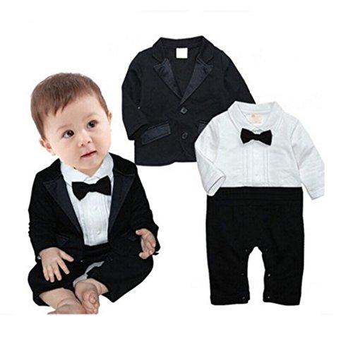 Newborn Romper Rompers Tuxedo Bodysuit product image