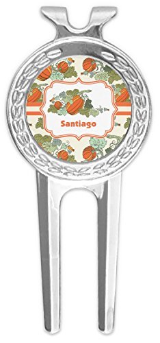 RNK Shops Pumpkins Golf Divot Tool & Ball Marker (Personalized) by RNK Shops