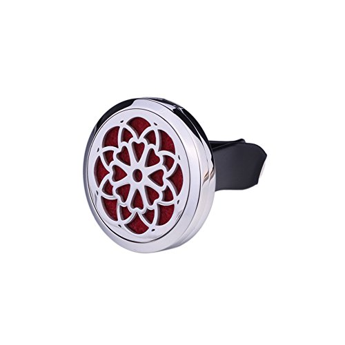 Amazon Black Friday Sales 2018 Aweganics Essential Oil Diffuser Clip - Oil Diffuser Pads, Magnetic Closure Car Vent Clip Diffusor with Flower Design, Aromatherapy with Aweganics Oils - msrp $39.99