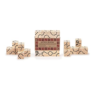Uncle Goose Antics Blocks - Made in USA : Baby Building And Stacking Toys : Baby
