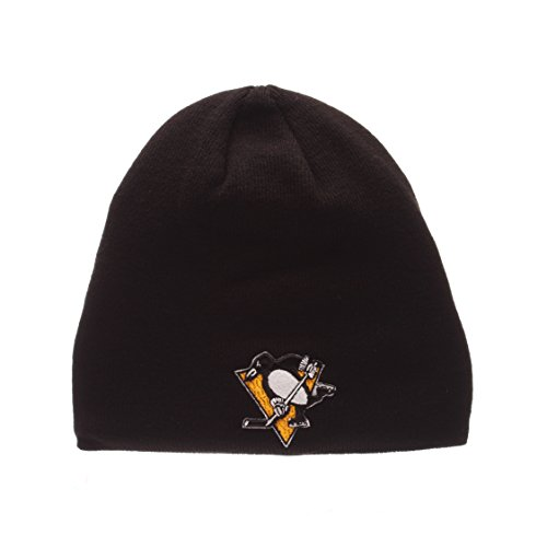 Pittsburgh Penguins Official NHL Edge Beanie Stocking Stretch Knit Sock Hat by Zephyr 71187