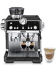 De'Longhi La Specialista Prestigio EC9355.BM Espresso portagare, espressomaskin med integrerad kvarn och professionellt mjölkskummunstycke, svart