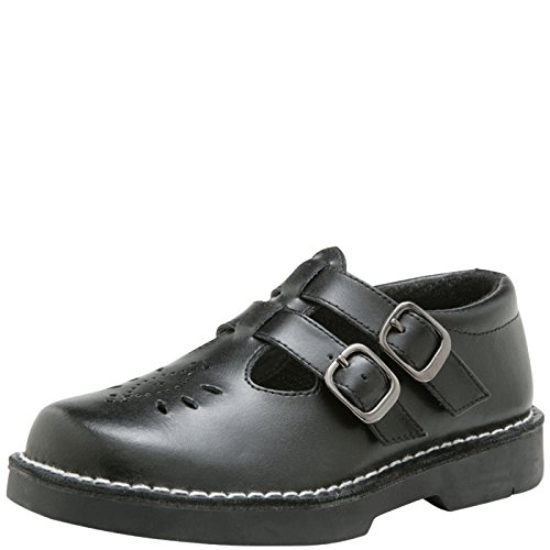 SmartFit Girls Amber Leather Double T-Strap Casual